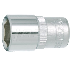 """Hazet 850-9 (6-Point) Square, Hollow 6.3mm (1/4"""") Hexagon 9-9 Traction Socket"""
