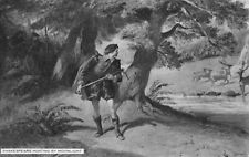 RAPHAEL TUCK POSTCARD SHAKESPEARE HUNTING BY MOONLIGHT Charles Cattermole