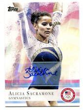 Alicia Sacramone 2012 Topps Olympic #11 Auto Gymnastics 48819