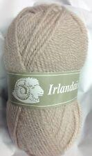10 pelotes laine irlandaise couleur: ficelle - fabriqué en France