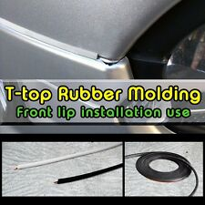 CARKING Fit 5mmx1M FRONT Bumper LIP use Self Adhesive T-top Moulding Strip tape