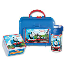 Thomas The Train LUNCH BOX SET WITH CANTEEN & SANDWICH CONTAINER - BRAND NEW