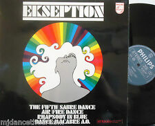 EKSEPTION - Self Titled ~ VINYL LP DUTCH PRESS