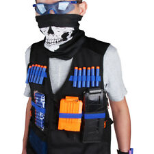 Worker Mod Wristband Vest Clips Bullets and Goggles for Nerf Stryfe Modify Toy