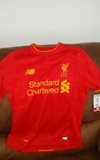 new balance Liverpool Fc premier league soccer jersey NWT size XL youth