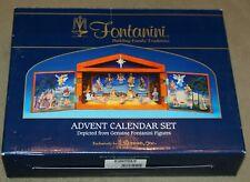 Fontanini Christmas Nativity Advent Calendar Set #65400