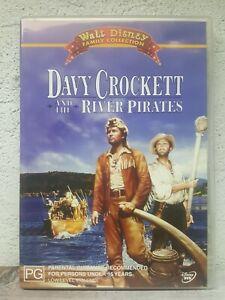 Davy Crockett DVD And The River Pirates Movie - Rare Walt Disney Family Movie