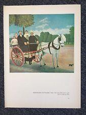 "Henri Rousseau ""TheCartOfPereJuniet"" & Pierre Bonnard ""WomanWithFruit"" Reprint"