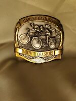 Harley-Davidson Growth of A Sport Belt Buckle, RARE Limited Edition 1007 of 7500