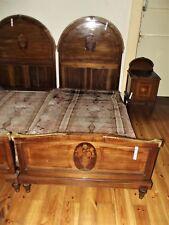 Bett, Nr. 2, Schlafzimmer, Intarsien, Jugendstil, 1910