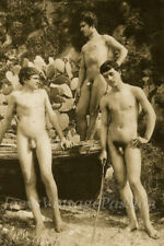 "1800's Art Three Young Men in Sicily Gay Interest 4""x6"" Reprint Photo WG9"