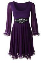 Lässige knielange Damenkleider im Boho -/Hippie-Stil