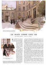 LYON HOTEL LACROIX-LAVAL DESSIN JOSE SIMONT ADP PAR ALBERIC CAHUET 1942