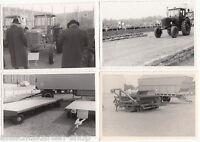 4 x DDR Foto Landmaschinen Traktor Erntemaschinen Fortschritt     ( 99482