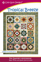 Tropical Breeze Quilt pattern - cozy Quilt Design