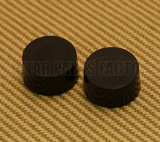 PK-3230-023 (2) Plain No Numbers Black Speed Knobs for Most USA Made Guitars