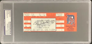Roger Clemens Signed Full Ticket 9/18/96 20 K II Inscription Autograph PSA/DNA