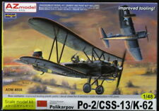 Admiral Models 1/48 POLIKARPOV Po-2 CSS-13 K-62 Russian Biplane Bomber