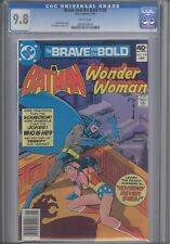Brave and the Bold #158 CGC 9.8  1980  DC  Comic featuring Batman & Wonder Woman