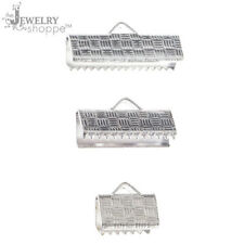 jewelry shoppe findings Silver Ribbon Pinch Clasp variety pack 6pc