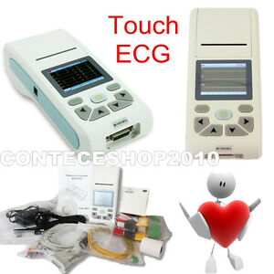 CONTEC Single Channel Electrocarcardiograph, auto-analysis ECG90A, Touch Screen