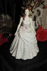Royal Worcester figurine - VICTORIA - Anniversary Figurine of  Year for 2008