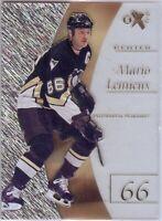 Mario Lemieux 2012-13 Fleer Retro E-X Insert Pittsburgh Penguins #6