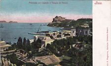 BACOLI - Panorama col Castello e col Tempio di Venere - Baia