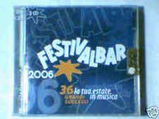 2CD FESTIVALBAR 2006 BLU LIGABUE EROS RAMAZZOTTI MANGO