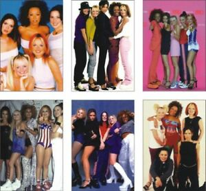 The Spice Girls Great New POSTCARD Set