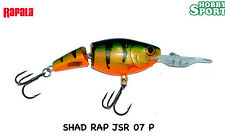RAPALA JOINTED SHAD RAP JSR-7 col P PERCH ORIGINALE
