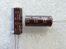 5 condensateurs 470uF 16V 105°C low esr Nippon LXF