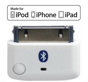 KOKKIA i10 (White) MULTI-STREAM Bluetooth iPod Transmitter, for iPod/iPhone/iPad