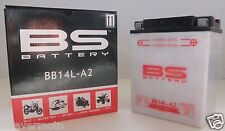 BS BATTERY BATTERIA YB14L-A2 CON ACIDO PER KAWASAKI Z 1000 D 1992