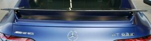 Mercedes-Benz OEM X290 AMG GT Coupe Fixed Static Spoiler Wing AMG Carbon Fiber