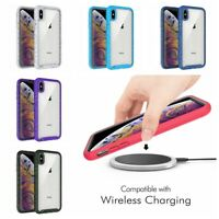 For iPhone 6 7 8 Plus XS X Max XR Dual-layer Hybrid Shockproof Armor Case Cover