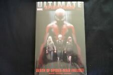 Ultimate Comics Spider-man Death of Spider-man Fallout Hardcover Graphic Novel