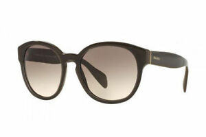 New Genuine Prada Sunglasses PR18RS UAM4K0 56mm Women's  Brown Fast Ship