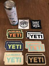Yeti Stash Can & Stickers Lot