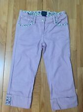 Mini Boden Girls Lilac 3/4 Jeans Age 10 Years Good Clean Condition  (A1)