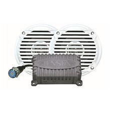 """Jensen Bluetooth Amplifier & 2 Speakers 5"""" Package JAHD240BT 80w MS5006 / CPM50"""