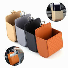 Car Seat PU Back Tidy Storage Box Coin Bag Case Pocket Hanging Holder Pouch
