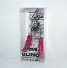 Grande Bling Eyelash Curler Set Of 4 Matching Pink Accessory MakeUp Lash Tools