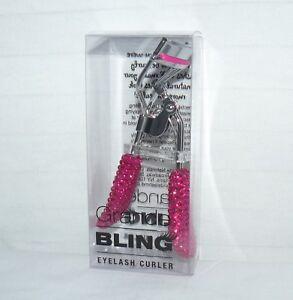 Set of 4 Matching Grande Bling Eyelash Curlers Pink Accessory MakeUp Lash Tools