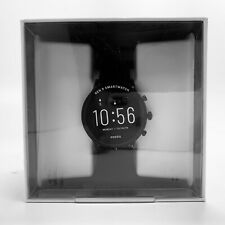 New Fossil Julianna Gen 5 44mm Black Silicone FTW4025 SEALED!!