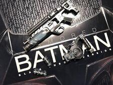 Hot Toys mms356 BVS Armored Batman Black Chrome Version 1/6 Armor Weapon