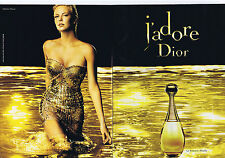 PUBLICITE ADVERTISING 064 2010 J'adore DIOR le Féminin Absolu (2 pages)