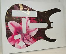 NEW Band/Guitar Hero 5/World Tour FACEPLATE for Nintendo Wii FLOWER floral skin