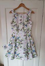 BNWOT £85 Oasis V&A Size 8 10 Floral Dress Party Summer Wedding Formal Races