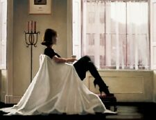 Jack Vettriano box canvas - In Thoughts of You